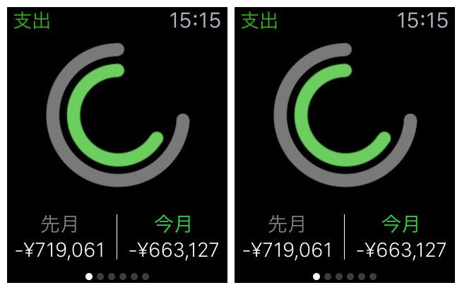 Apple Watchアプリおすすめ - Moneytree