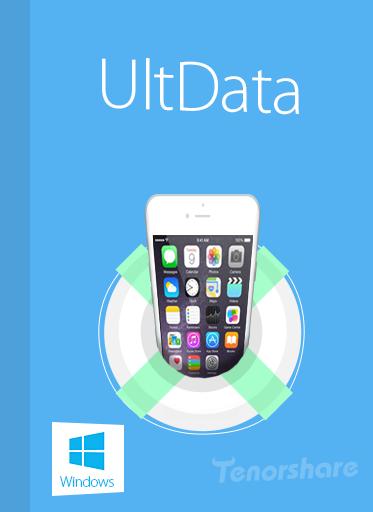 iPhoneのデータ復元ソフト -  UltData