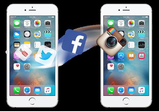 古いiPhoneから新しいiPhoneにアプリを移行する方法