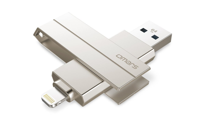 iPhone用USBメモリを利用してファイルを保存する