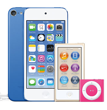 iPhoneからiPodに音楽を移行する