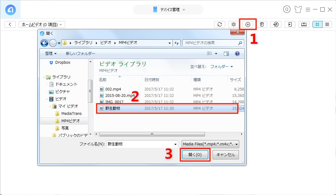形式を変換してパソコンからiPhoneに動画を入れる方法 - Step 3