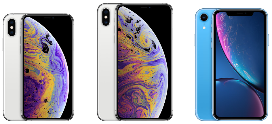 iPhone XS,iPhone XR,iPhone XS Max,iPhone XとiPhone 8どっちが買いたい?違いを徹底比較!